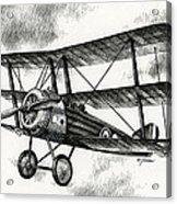 Sopwith Triplane 1917 Acrylic Print