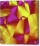 Sorbitol Crystals Acrylic Print