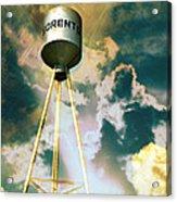 Sorento Illinois Tower Acrylic Print