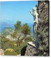 Sorrento Peninsula From Mt Solaro Capri  Acrylic Print