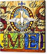 S.o.s. Amen Acrylic Print