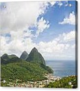 Soufriere St. Lucia Acrylic Print