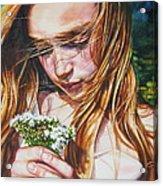 Soul Blossoms Acrylic Print