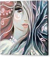 Soul Confessions Acrylic Print by Hilda Lechuga