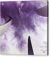 Soul In The Sky - Us Air Force Memorial Acrylic Print