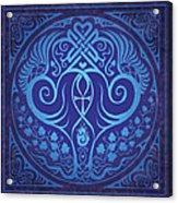 Soul Mates - Blue Acrylic Print