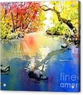 Sound Of Calmness Acrylic Print