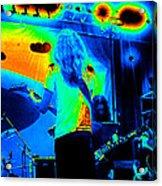 Soundcheck #11 Enhanced Cosmicolors 1 Crop 2 Acrylic Print