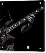 Sounds In The Night Bass Man Acrylic Print by Bob Orsillo