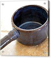Soup Connoisseur Acrylic Print by Christine Belt