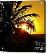 Sour Sunset Acrylic Print