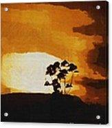 South African Sky Acrylic Print