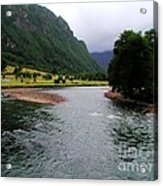 South America - Chile River Acrylic Print