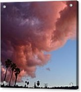 South Bay Clouds Acrylic Print