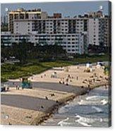 South Beach Afternoon Acrylic Print