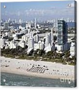 South Beach Florida Acrylic Print