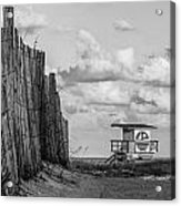 South Beach Lifeguard Shack Acrylic Print