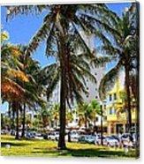 South Beach Miami Beach Acrylic Print