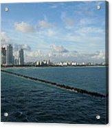 South Beach Miami Fl Acrylic Print