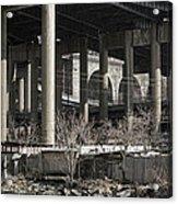 South Bronx Shanty Shacks - New York Acrylic Print