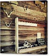 South Carolina Hunting Cabin Acrylic Print
