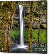 South Falls Silver Falls State Park Acrylic Print