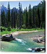 South Fork Payette River Grandjean Acrylic Print