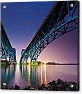 South Grand Island Bridge Acrylic Print
