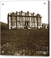 South Hall Which Housed The College Of Science University Of Cal Circa 1904 Acrylic Print
