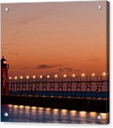 South Haven Reflection Acrylic Print
