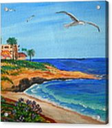 South La Jolla Acrylic Print