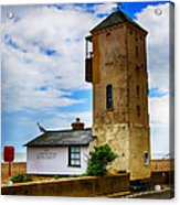 South Lookout Tower Aldeburgh Beach Acrylic Print