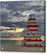 South Pointe Park Lighthouse Acrylic Print
