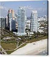 South Pointe Park Miami Beach Florida Acrylic Print