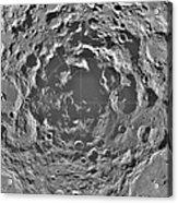 South Pole Of Moon  Acrylic Print