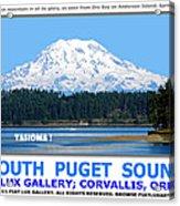 South Puget Sound Acrylic Print