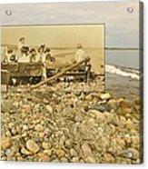 South Shore Beach In Little Compton Rhode Island Acrylic Print