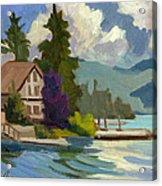 South Shore Big Bear Lake Acrylic Print