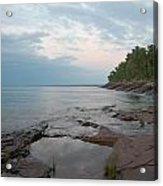 South Shore Of Lake Superior Acrylic Print