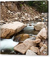 South St Vrain Canyon Autumn View Acrylic Print