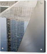 South Tower Reflections Acrylic Print