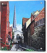 Southampton Blue Anchor Lane Acrylic Print