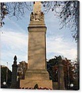 Southampton Cenotaph Hampshire Acrylic Print