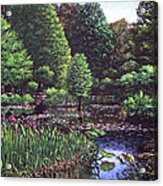 Southampton Hillier Gardens Acrylic Print