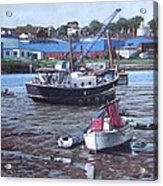 Southampton Northam Boats Acrylic Print