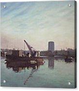 Southampton Northam River Itchen Acrylic Print