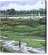 Southampton River Hamble Acrylic Print