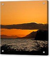 Southeast Alaska Sunset Acrylic Print
