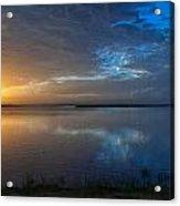 Southeast Texas Sunrise Acrylic Print by Tammy Smith