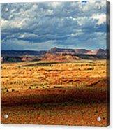 Southeastern Utah Desert Panoramic Acrylic Print